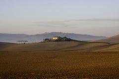 Tuscany. Landscape in Tuscany near Montalcino, Pienza and Montepulciano Royalty Free Stock Photo