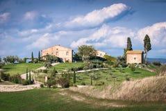 Tuscany. View of scenic Tuscany landscape , Chianti region, Tuscany, Italy Royalty Free Stock Images