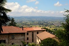 Tuscany royaltyfria foton