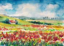 tuscany ilustracja wektor