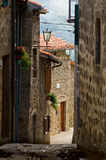 Tuscany alley Royalty Free Stock Photos