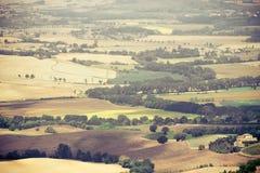 Tuscany autumn landscape Royalty Free Stock Images