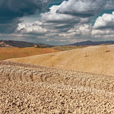 Tuscany in the Autumn Royalty Free Stock Photo