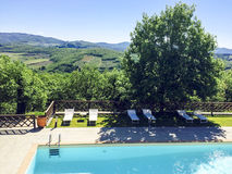 Tuscany. Beautiful view of the Tuscan countryside Royalty Free Stock Photo