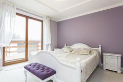 Tuscany - sypialnia obraz stock
