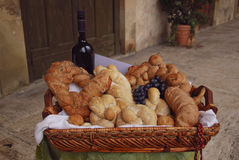 Tuscany bread Royalty Free Stock Photos