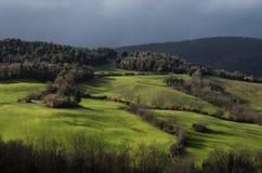 Tuscany bygd Arkivfoton