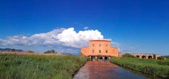 Tuscany, Castiglione della Pescaia Diaccia Botrona rezerwat przyrody zdjęcie stock