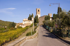 Tuscany castle Stock Images