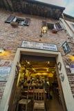 Tuscany Certaldo krog Arkivbilder