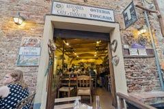 Tuscany Certaldo krog Royaltyfria Bilder