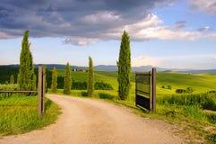 Tuscany chapel Stock Image