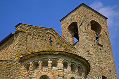 Tuscany church Royalty Free Stock Image