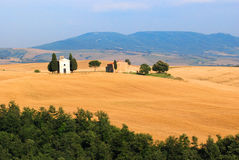 Tuscany Church Stock Image
