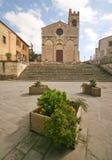Tuscany church Stock Photography