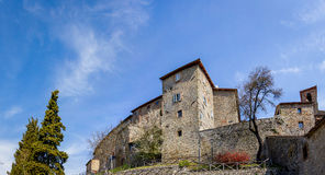 Tuscany city alley Royalty Free Stock Photography
