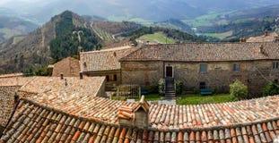 Tuscany city alley Stock Image