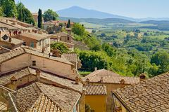 Tuscany city Stock Photos