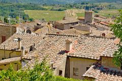 Tuscany city Royalty Free Stock Images