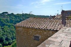Tuscany city roof Royalty Free Stock Photography