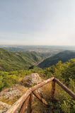 Tuscany coast from Apuan Alps Royalty Free Stock Photography