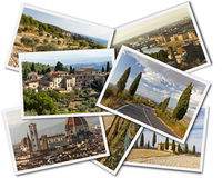 Tuscany Collage Royalty Free Stock Photo