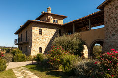Tuscany country house Stock Photography
