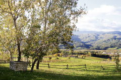 Tuscany country landscape Stock Photo