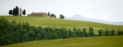 TUSCANY Countryside,little Farm Stock Photos