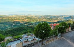 View from San Marino hills Royalty Free Stock Image