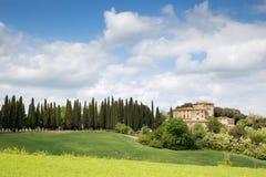 Tuscany countryside Royalty Free Stock Photos