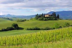 Tuscany dom Fotografia Royalty Free