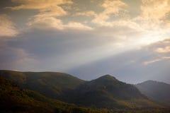 Tuscany dusk Royalty Free Stock Image