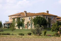 Tuscany estates Stock Image