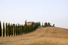 Tuscany estates Stock Photography