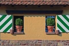 Tuscany facade stock photography