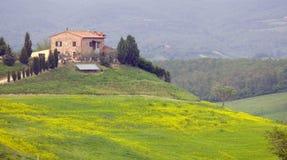 TUSCANY FARM Royalty Free Stock Image