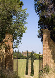 TUSCANY FARM Royalty Free Stock Photos