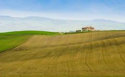 Tuscany farm stock photo