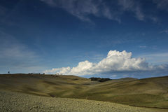 Tuscany fields in autumn Stock Photos