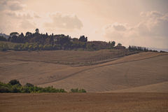 Tuscany fields landscape, Italy Royalty Free Stock Photography