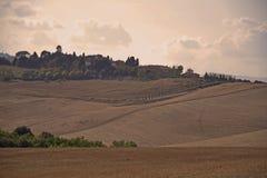 Tuscany Fields Landscape, Italy Royalty Free Stock Photography