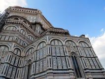 Tuscany Florence, domkyrka av Santa Maria del Fiore fotografering för bildbyråer