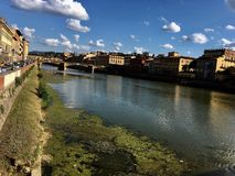 Pontevecchio. Tuscany Florence impressive arhitecture street pontevecchi Royalty Free Stock Photography