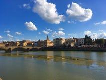 Pontevecchio. Tuscany Florence impressive arhitecture street pontevecchi Stock Photo