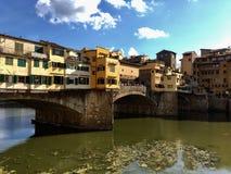 Pontevecchio. Tuscany Florence impressive arhitecture street pontevecchi Royalty Free Stock Photos