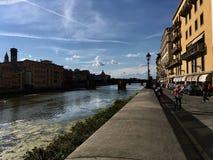 Pontevecchio. Tuscany Florence impressive arhitecture street pontevecchi Stock Photos