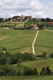 Tuscany hill Stock Image