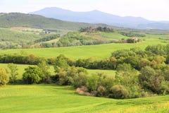 Tuscany hills landscape Stock Photos