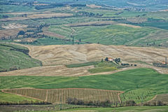 Tuscany hills landscape Royalty Free Stock Images